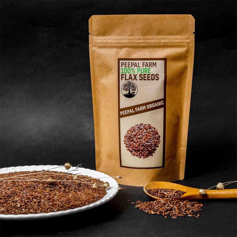 Toasted Flax Seeds