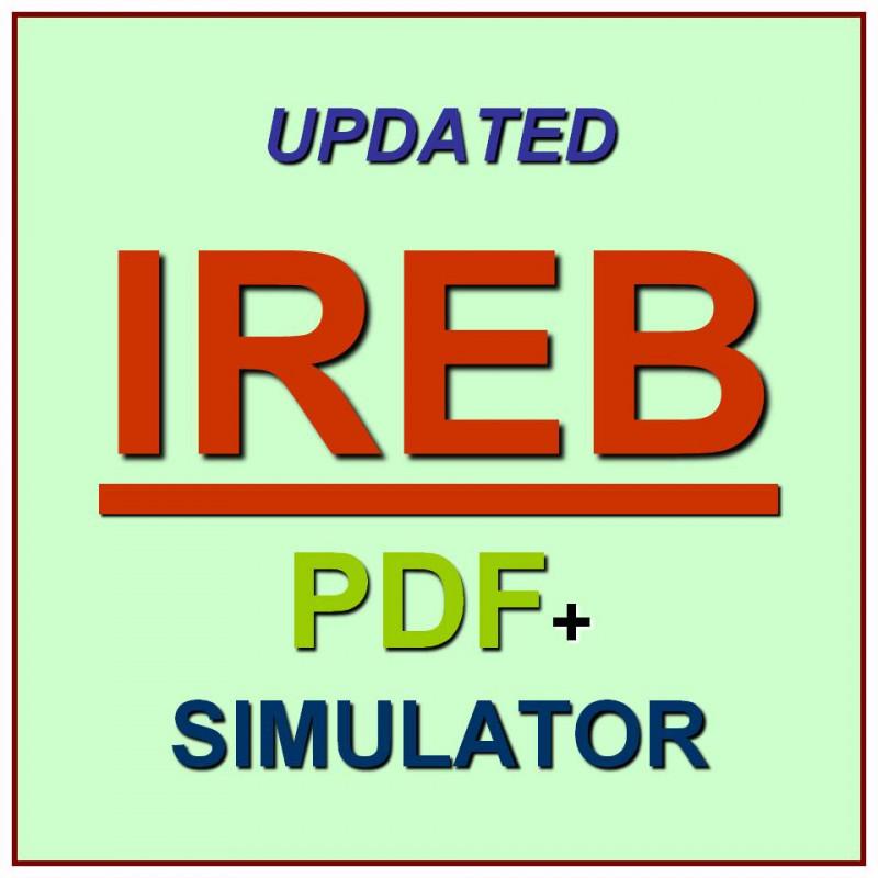 ISQI IREB Certified Requirements Engineering Test IREB/_CPRE/_FL Exam QA PDF+SIM
