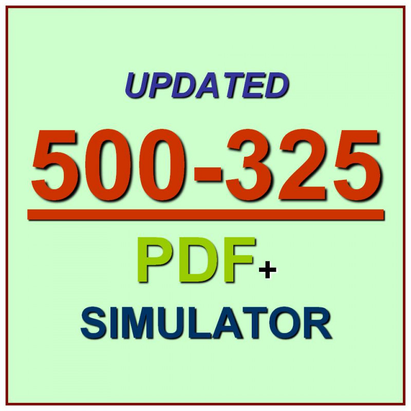 500-325 Collaboration Servers And Appliances CSA    PDf /& Simulator