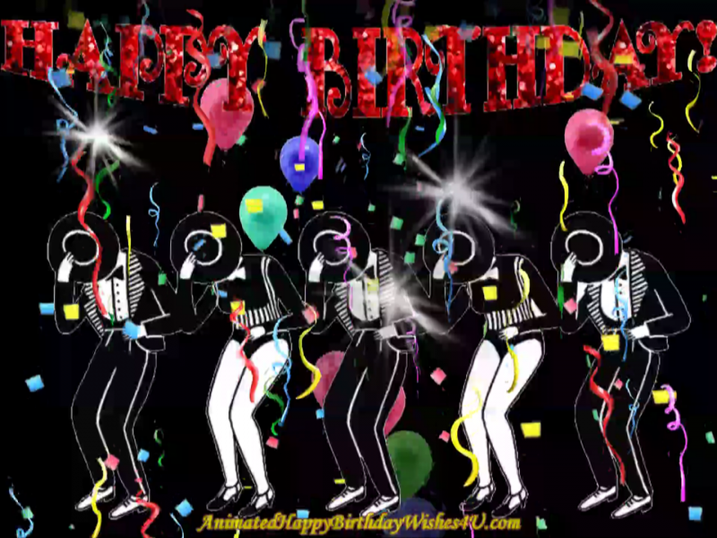 213 Free Download Dance Troop Happy Birthday Wishes