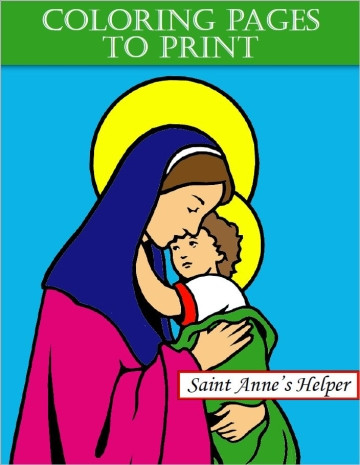Saint Veronica Coloring Page The Catholic Kid With Images St ... | 465x360