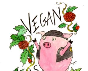 Vegan AF Sticker