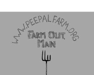 Farm Out Sticker