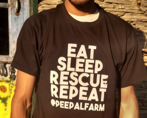 Eat Sleep Rescue Repeat T-shirt