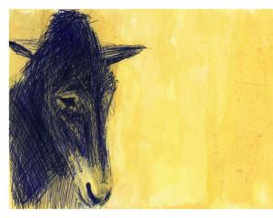 Postcard - Charlie Horse