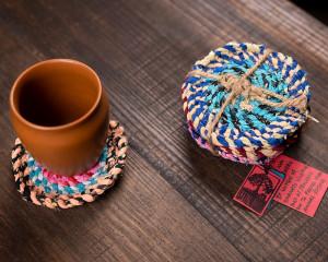 Hand-Made Coasters (Set of 6)
