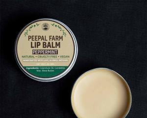 Handcrafted Vegan Peppermint Lip Balm