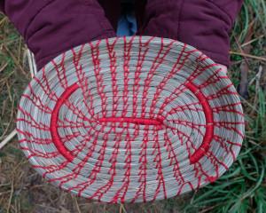 Handcrafted Pine-Needle Basket