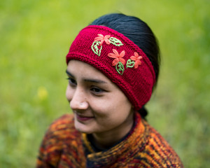 Hand-Knitted Head Band