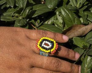 Pine-Needle Ring