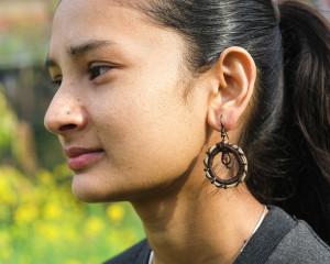 Pine-Needle Earring