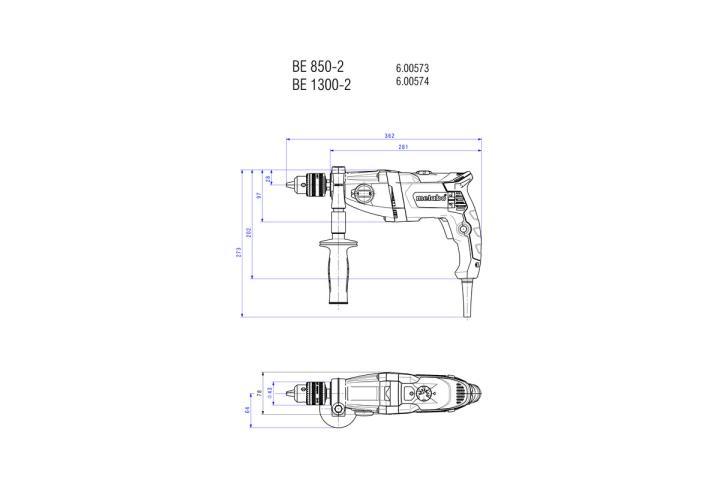 Дриль Metabo BEV 1300-2_4