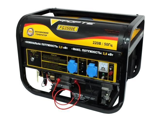 Бензиновий генератор Forte FG 3500E_0