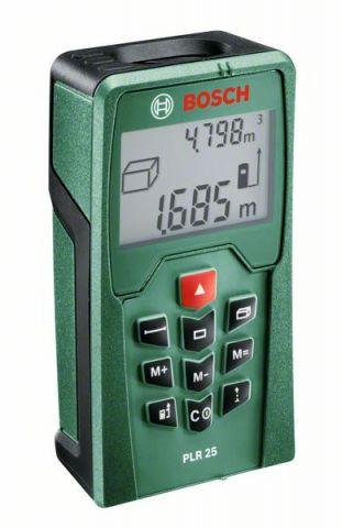 Лазерный дальномер Bosch PLR 25_0