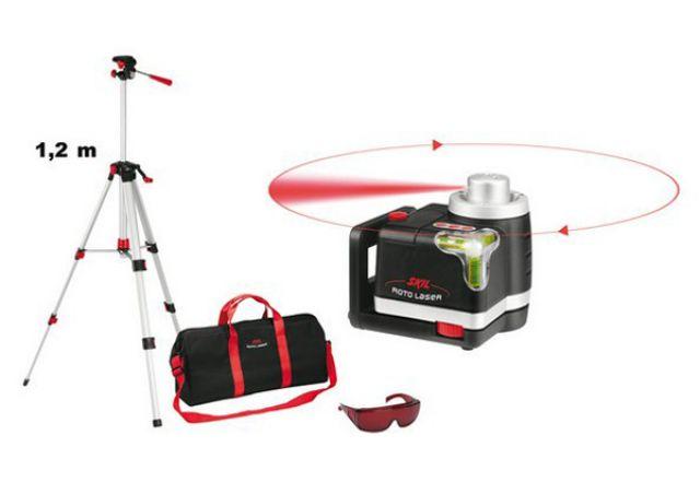 Ротационный лазерный нивелир Skil 0560 AС_1