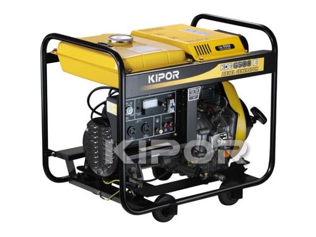 Дизельный генератор Kipor KDE 6500 X / KDE 6500 E_0