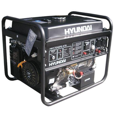 Бензиновый генератор Hyundai HHY 7000 FE ATS_0