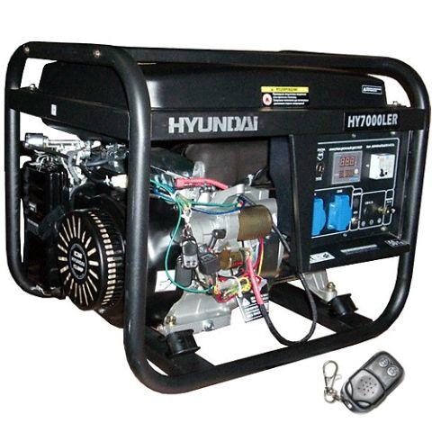 Бензиновый генератор Hyundai HY 7000 LER_0