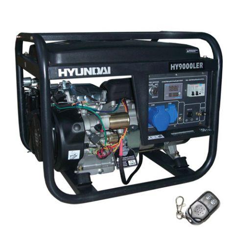 Бензиновый генератор Hyundai HY 9000 LER_0