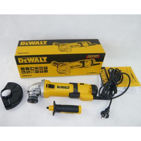 Болгарка DeWalt DWE4257_5