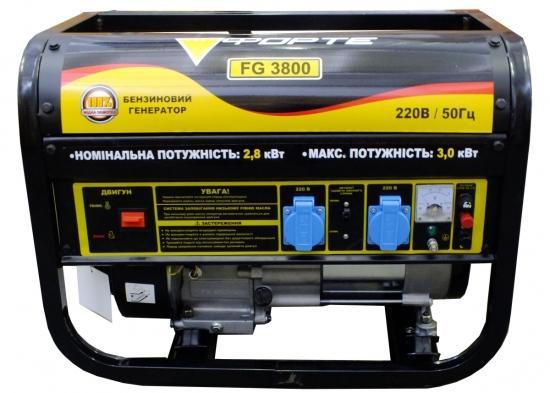 Бензиновий генератор Forte FG 3800_0