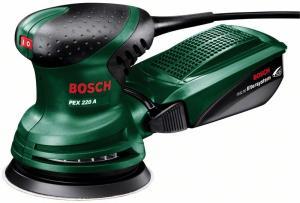 Ексцентрикова шліфмашина Bosch PEX 220 A
