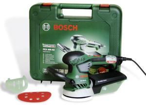 Ексцентрикова шліфмашина Bosch PEX 400 AE