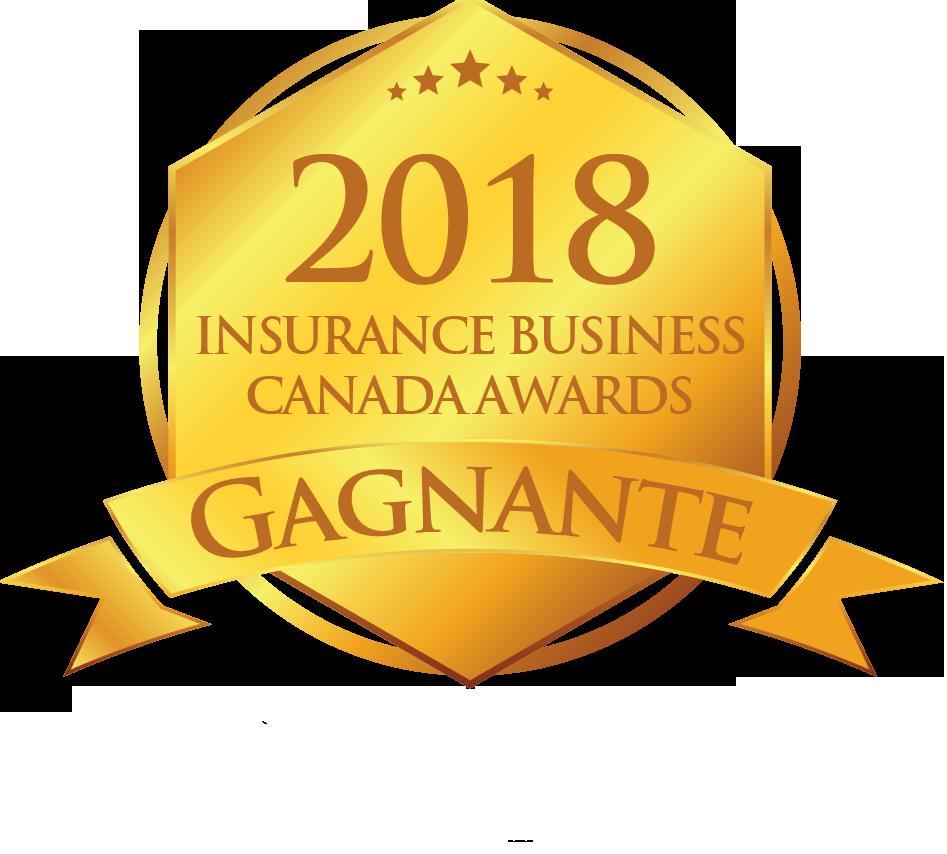 Insurance Business Awards 2018 Prix Equisoft de L'assureur vie et santé de l'année gagnant
