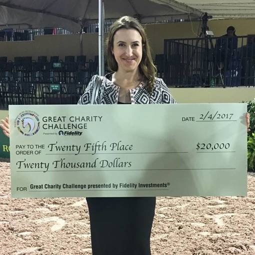 That's All Folks!: Equestrian Aid Wins $20,000 in 2017 Great Charity Challenge