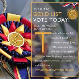 Equestrian Living's Gold List: Vote for Equestrian Aid Foundation!
