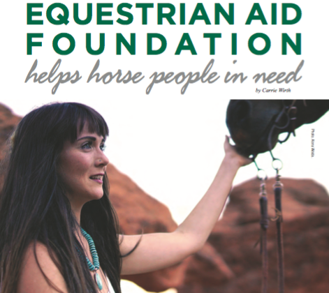 Equestrian Aid Foundation Helps Horse People In Need
