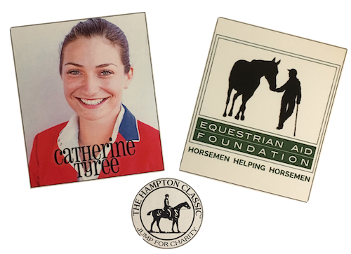 Catherine Tyree to Compete for Equestrian Aid Foundation in Hampton Classic Horse Show's Third Annual Jump for Charity