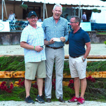 Equestrian Aid Foundation Honored At Monmouth at the Team