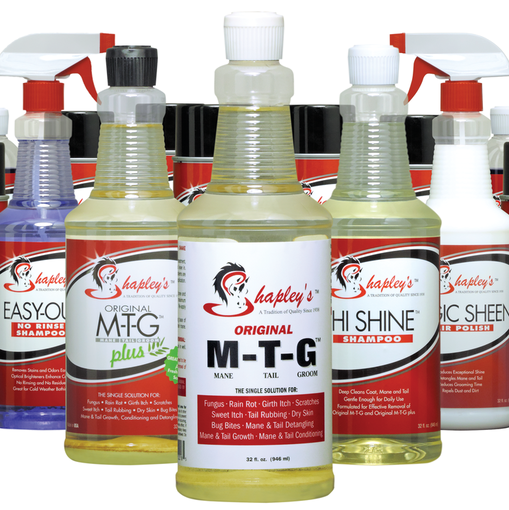 SHAPLEY'S SUPERIOR GROOMING PRODUCTS  TO PARTNER WITH EQUESTRIAN AID  FOUNDATION FOR SECOND YEAR