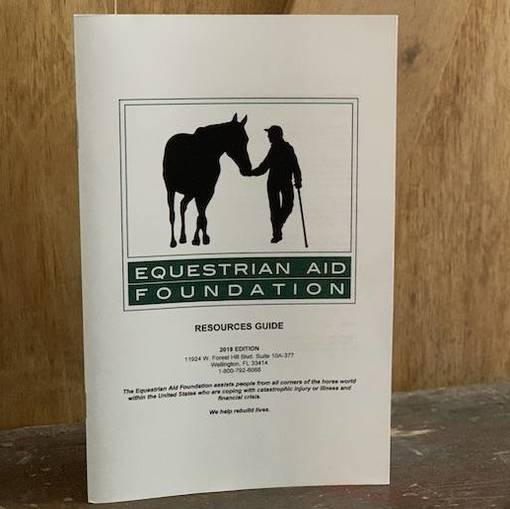 2019 Edition of Equestrian Aid Foundation Resources Guide Now Available