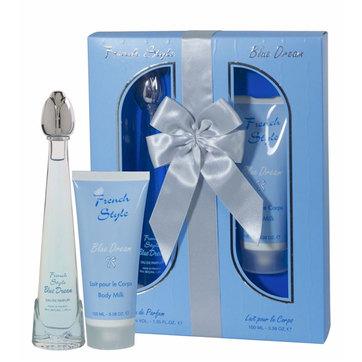 Ref. 2095 - Gift Set French Style Blue Dream EDP+MILK Dina Cosmetics