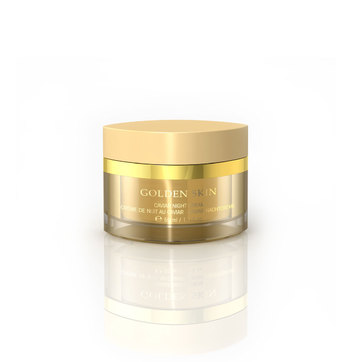 Ref. 3294 - Golden Skin Caviar Night Cream Creme anti-sinais noturno com ouro e caviar
