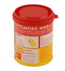 Fumígeno Flutuante Drew/PWSS Laranja 3min MK8 53685