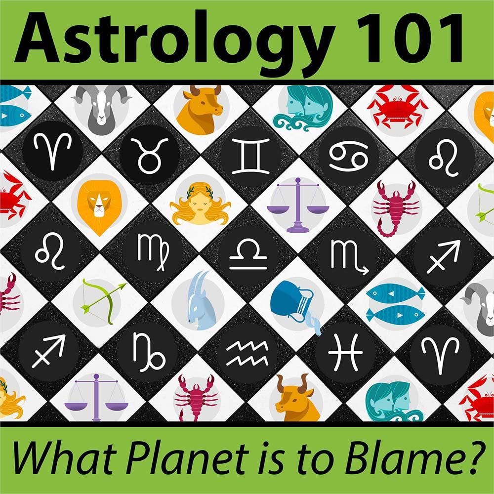 Astrology 101 with Zodiac symbols
