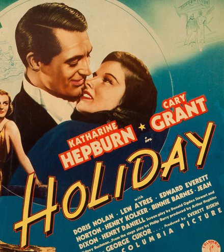 Holiday with Cary Grant and Katharine Hepburn
