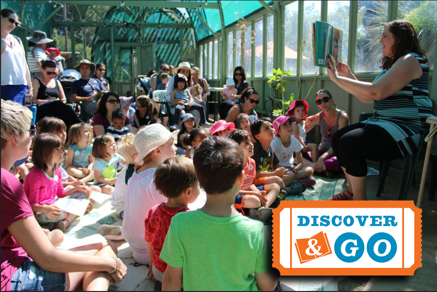Discover & Go pop-up storytime