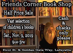 Friends Corner Book Shop Half Off Sale