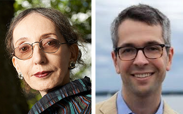 Distinguished Speaker Series presents: Joyce Carol Oates and Anthony Marra