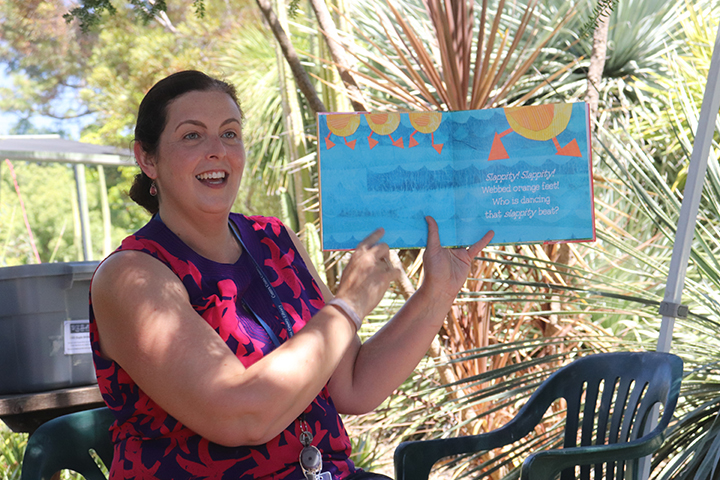 Miss Amy's Storytime at Lindsay Wildlife