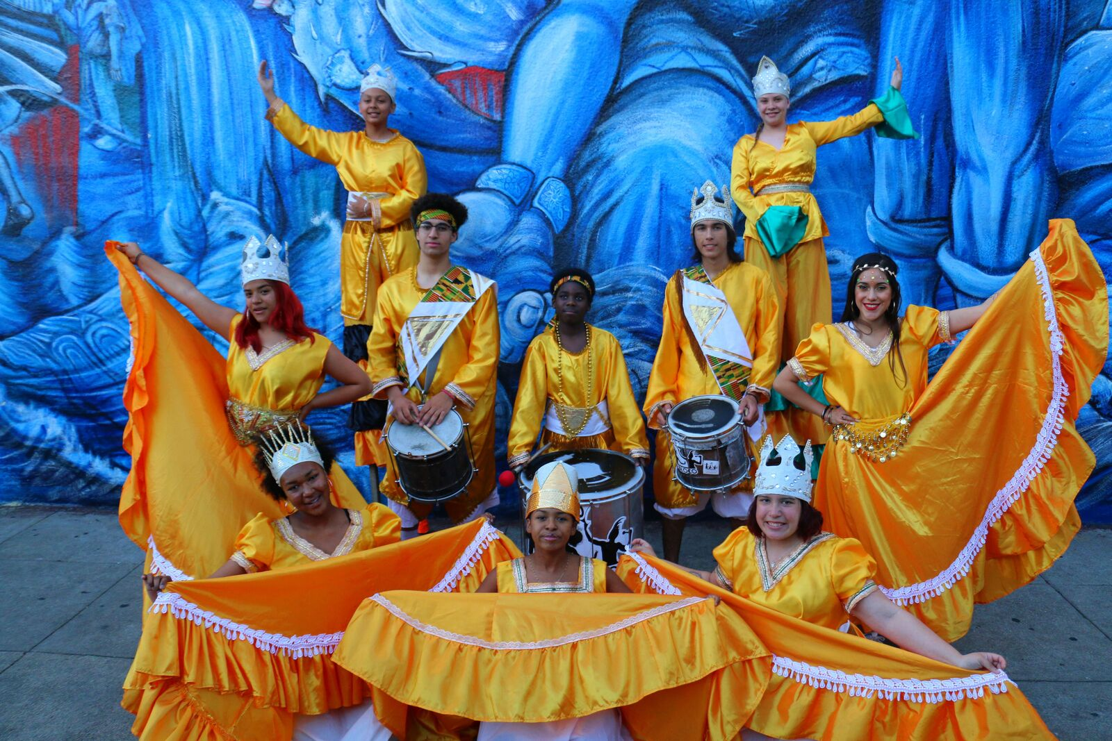 Loco Bloco Afro-Latin Drumming Workshop
