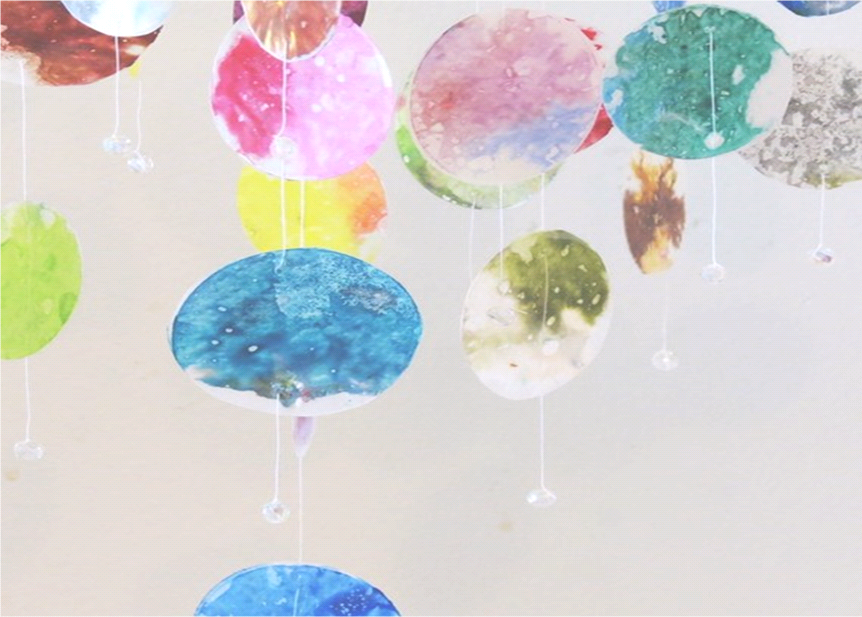 Craft: Planetary Mobile for Children's Area