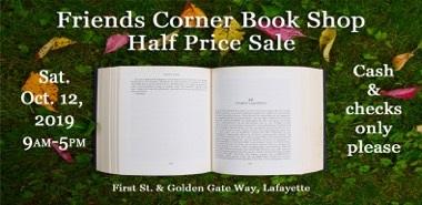 Friends Corner Book Shop Half Off Sale