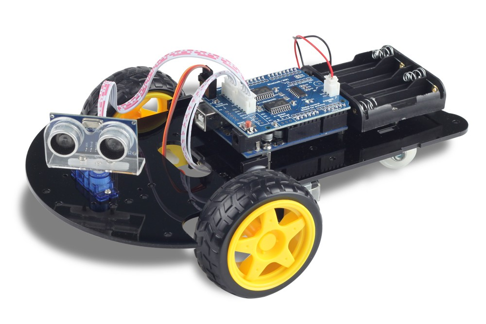 Build & Program your own Arduino Smart Car!