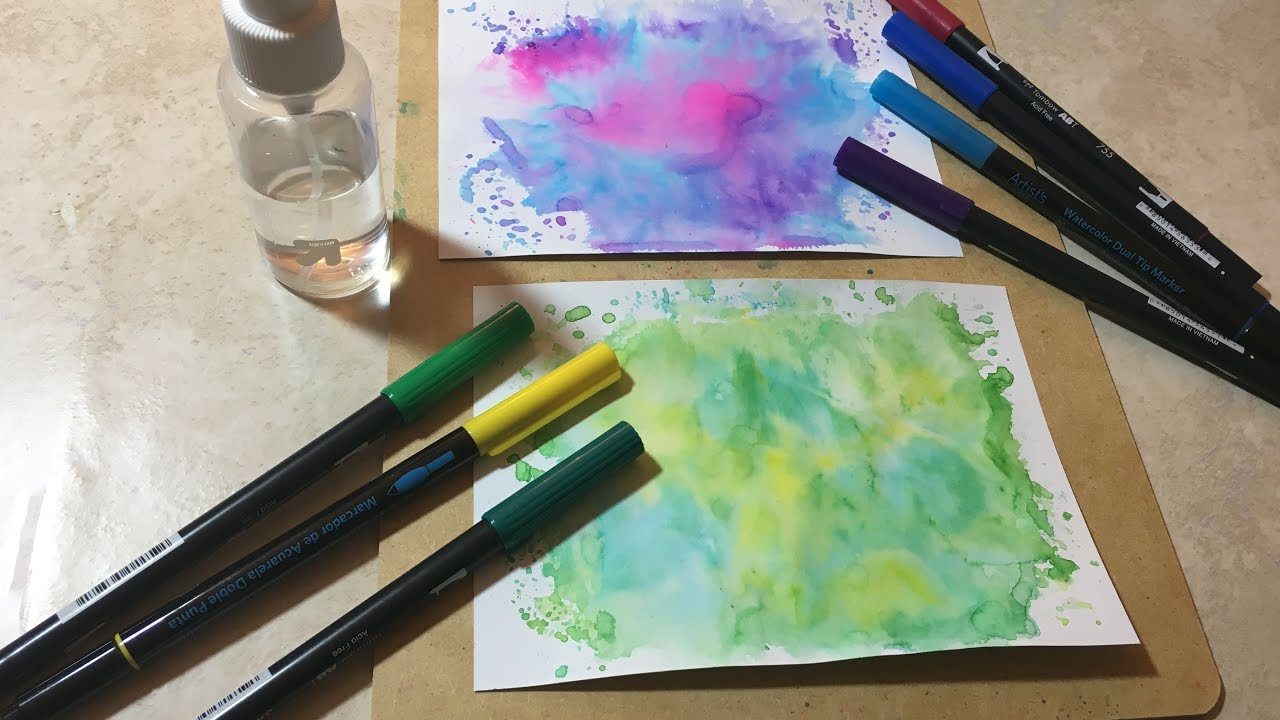 Water Color Hacks – Painting for Teens