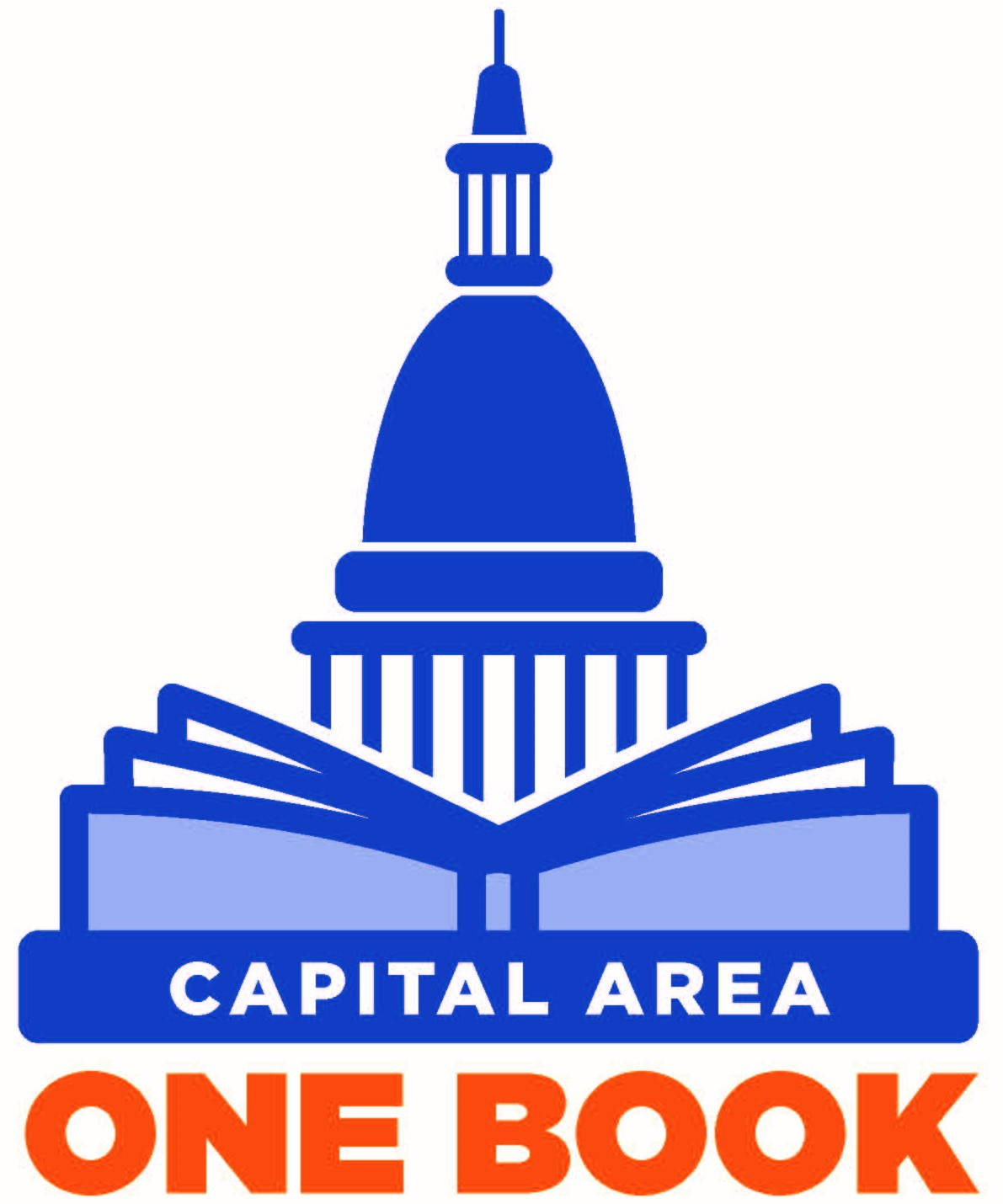 Capital Area One Book Logo